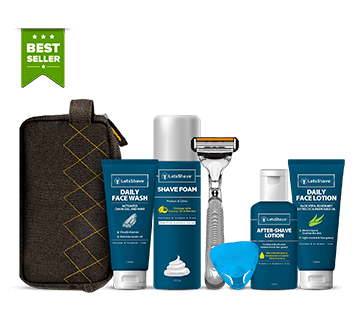 LetsShave Men Grooming Kit