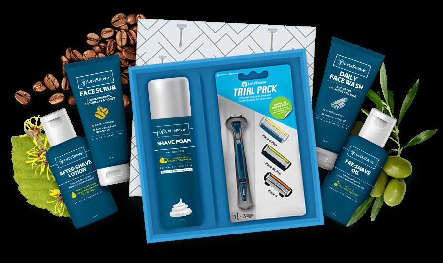 letsshave-shaving kit