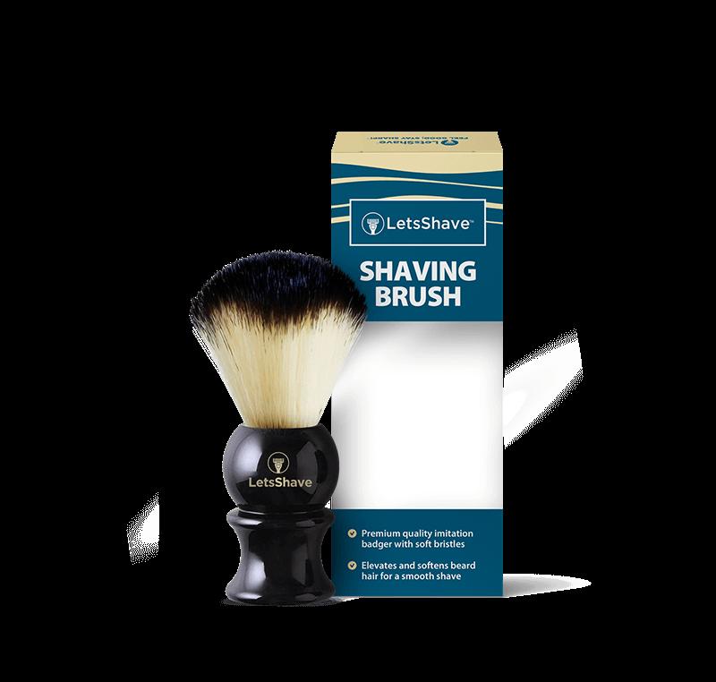 Shave Brush - Glossy Black