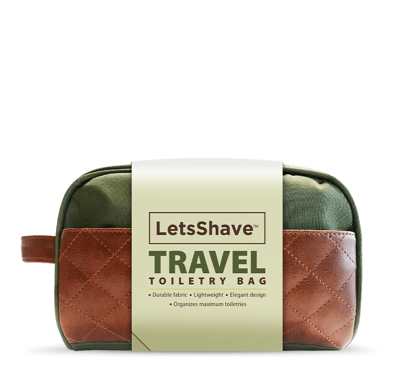 Toiletry Bag (Green) - Water Resistant
