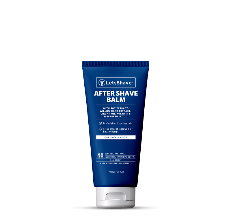 After Shave Balm - Argan Oil, Peppermint & Vitamin