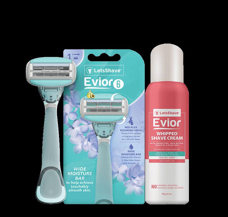 Evior 6 Trial Kit for Sensitive skin