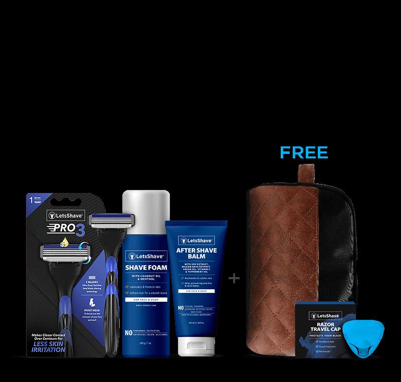 LetsShave Pro 3 Grooming Kit