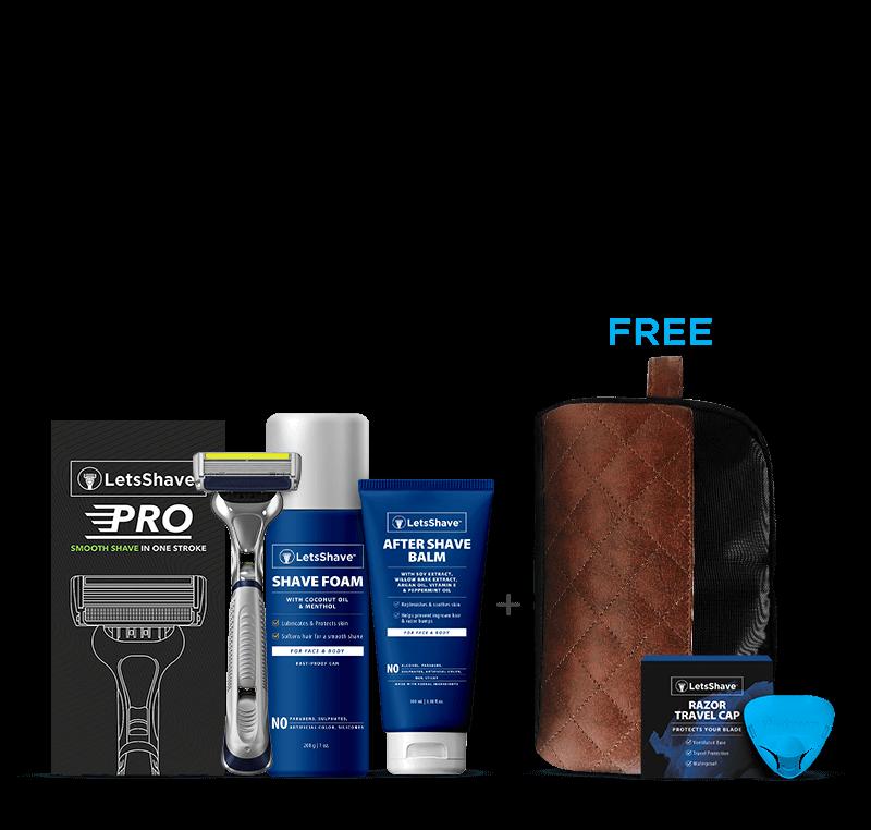 LetsShave Pro 6 Grooming Kit